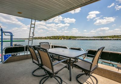 bow deck - the sweet spot with a view