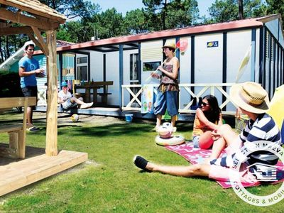 Photo for Camping Le Vieux Port ***** - Maeva Camping - 4 Rooms 6 People Chalet
