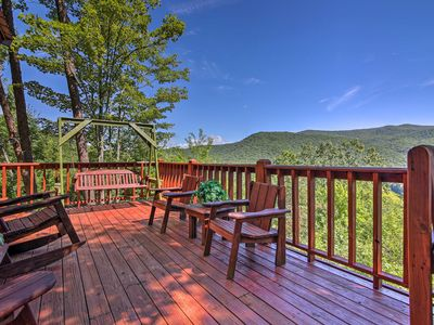 Photo for NEW! Secluded Blue Ridge Cabin w/ Mountain Views!