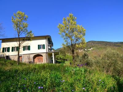 Photo for Spacious home divided in two apartments with lovely terrace surrounded by nature