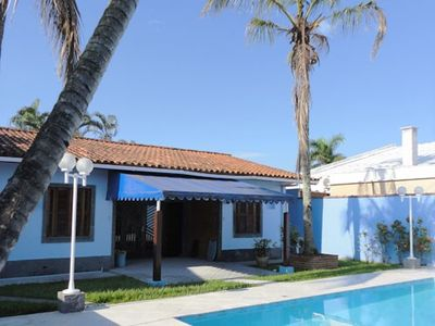 Photo for HOUSE C / SWIMMING POOL + BARBECUE + 04 DORM.- 1 SUITE + AIR CONDITIONING + NEAR BEACH