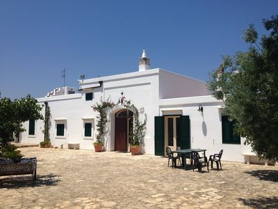 Photo for Restored farmhouse with olive grove - Casale Eucalipto