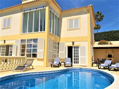 Photo for Sea View Villa with Private Pool walking distance to beach, old town and marina