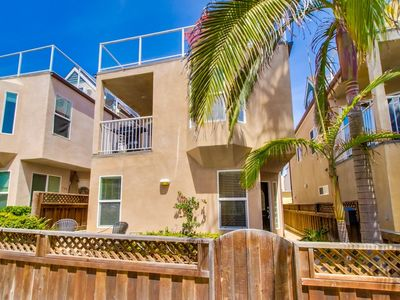 Photo for Stand Alone home steps to the ocean. Three Bedroom, Large Garage