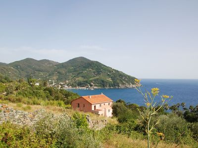 Photo for Wonderful private villa for 11 people with WIFI, patio, pets allowed, panoramic view and parking