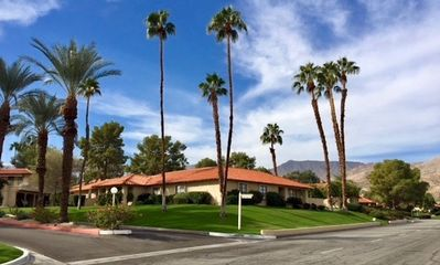 Photo for Palm Desert! Private in-ground spa, single level tennis town home. New listing