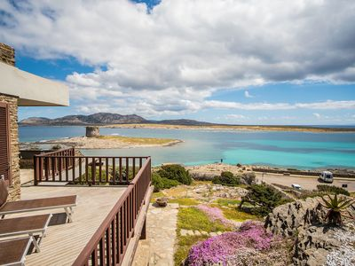 Photo for Fantastic Holiday Home in Quiet Location with Wi-Fi, Air Conditioning and Terrace with Sea View; Parking Available; Pets Allowed
