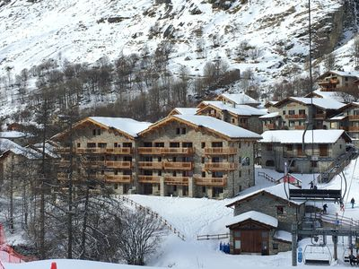 Photo for BONNEVAL-SUR-ARC la Bergerie: New comfortable apartment at the foot of the slopes.