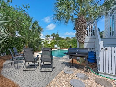 Photo for Private Pool!  Perfect SUMMER RETREAT for your FAMILY BEACH VACATION in 2018!