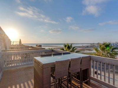 Photo for NEW LISTING! Beachfront ocean-view condo w/ shared pool & hot tub