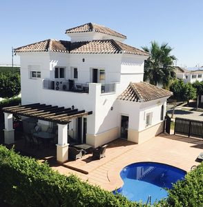 Photo for Luxury Villa - With Private Pool - Sleeps 8 - Fully Airconditioned