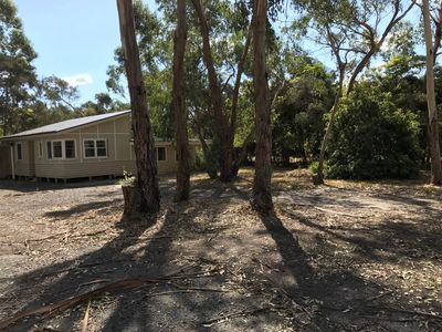 Photo for Foreshore. Treestay on 2 acres near Phillip Island. Water views. Walk to village