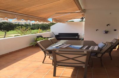 Photo for Bungalow in Golf Course in Playa San Juan with large terrace with views