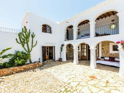 Photo for Posh Mansion on an Exclusive Island in Sant Carles de Peralta with Pool