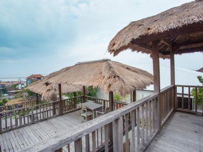 Photo for Natural Wooden Room and Tatched Roof in Nusa Dua, Value for Money!