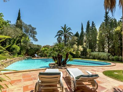 Photo for Magnificent villa with private pool near Port Grimaud and Saint Tropez