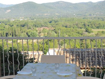 Photo for Holiday house - Saint Tropez: Holiday house with view