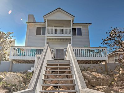 Photo for Tranquil Oceanfront New Smyrna Beach Home w/ Deck!
