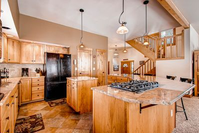 Bystone House  - kitchen with all you need for a perfect vacation!