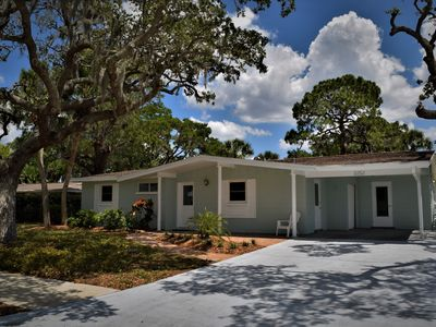 Photo for Lakefront 3 Bedroom 2 Bath with Heated Pool Home Close to Siesta Key Beach