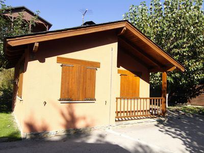 Photo for Cozy bungalow with a fireplace in the middle of the Pyrenees