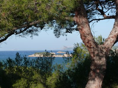 Photo for View pine forest and sea for this pleasant very quiet T3 200 m from the beach