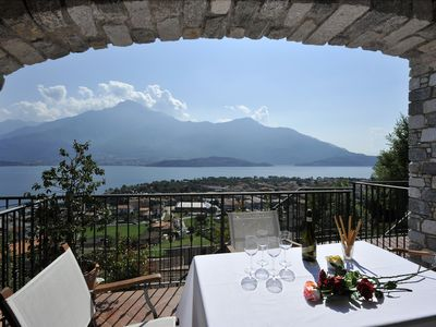Photo for 2BR Apartment Vacation Rental in Vercana, Lake Como
