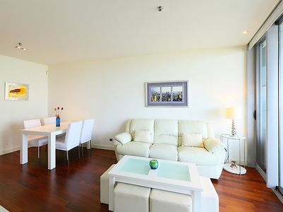 Photo for Apartment Diagonal Mar in Barcelona - 4 persons, 2 bedrooms