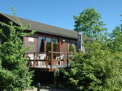 Photo for Charming chalet with a view of the fields.