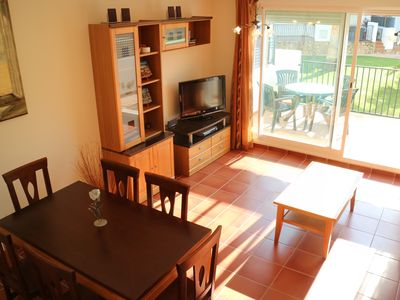 Photo for Air-conditioned town house with pool in Alcossebre Spain