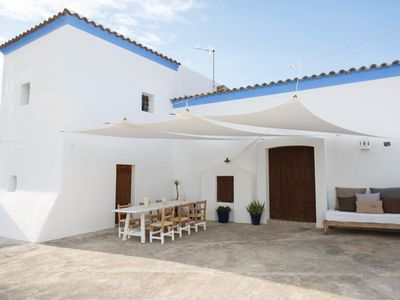 Photo for Ibizan Country House with Garden, Pool and Wi-Fi; Parking Available