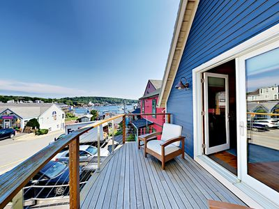 Photo for The Coal Shack: Pet-Friendly Harborfront Studio in Downtown Boothbay