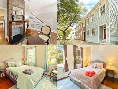 Photo for Savannah's Magic Two-story 3-br Historic Townhouse in Downtown (Forsyth Park)