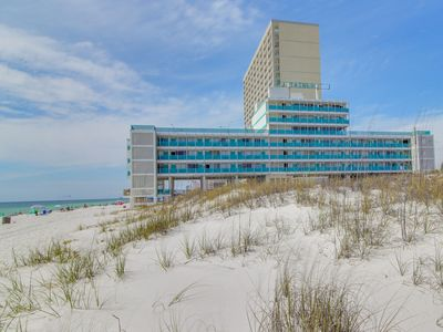 Photo for Beachfront studio with beautiful  Gulf views &  so much more! Snowbird rates!
