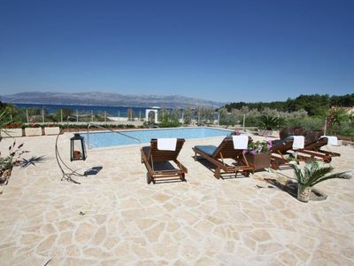 Photo for Villa in the center of Mirca with Internet, Pool, Air conditioning, Parking (990856)