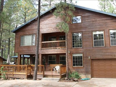 Photo for 4BR Cabin Vacation Rental in Pinetop, Arizona