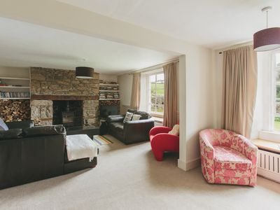 Photo for Family and pet friendly 6 bedroom farmhouse in Dartmoor National Park, Devon