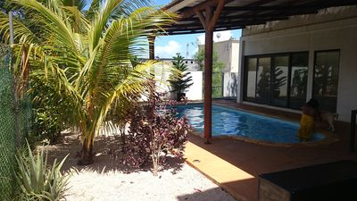 Photo for Private vacation  rental near the City and close to the beach.