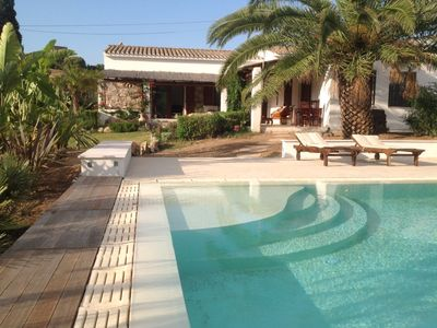"Photo for ""Casa Canne ""Romantic farmhouse in rural setting . Family friendly with pool !"