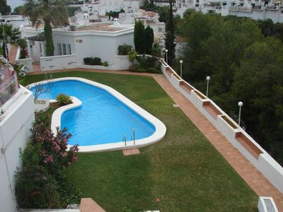 Photo for Ref. 1165 1 bedroom apartment, Pool, A / C, Wifi, Burriana area