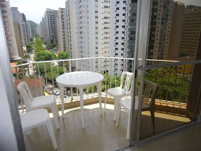 Photo for APARTMENT IN GUARUJÁ WITH POOL AND SEA VIEW!