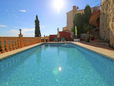 Photo for Villa in a nice location with pool in Calpe great for families and friends