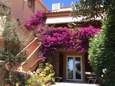 Photo for Porto Istana 2 rooms PRIVATE GARDEN 700 meters from the SEA