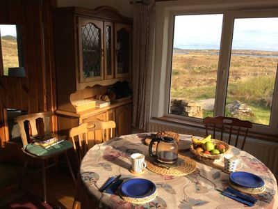 Photo for Light cosy Donegal fisherman's cottage with original features, stunning views.