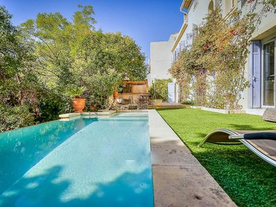 "Photo for Bastide with garden, pool and 3 private parking in the ""old Cassis"""