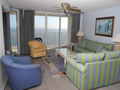 Photo for South Shore Villa Unit 1205! Stunning Oceanfront Premium Condo. Book your get away vacation today!