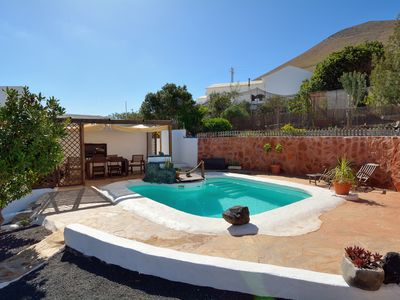 Photo for Rural Big Villa with Pool in sunny Lanzarote