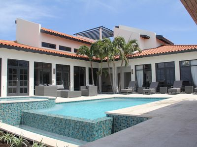 Photo for NEW! 4 BR villa 200 yds from Marriott heated jacuzzi