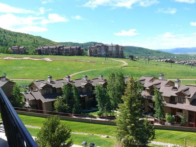 Photo for Beautifully Remodeled Elegant Condo with Panoramic Summer Mountain Views