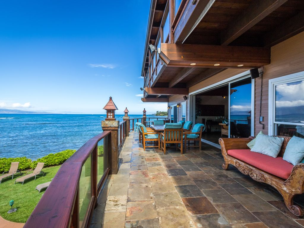 Kahana Nui Villa The Most Luxurious And Private Beach Front Estate